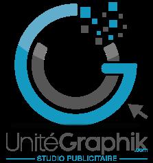 Unité Graphik | Studio publicitaire | Personalisation textile | Lettrage véhicule & Vitrine Logo